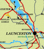 Launceston maps