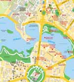 Canberra maps